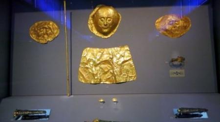 В Казахстане выставят золото Шлимана