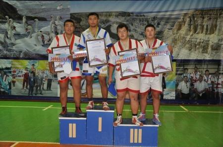 В Актау прошли отборочные соревнования «Жас Барыс» по казакша курес