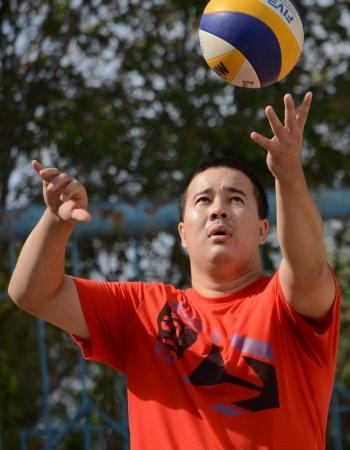 Казахстанские и польские волейболисты соревновались в Актау