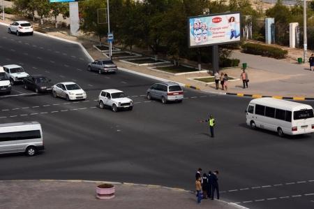 В Актау из-за аварии в электросети в центре города отключились светофоры