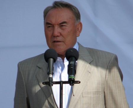 Президент Казахстана Нурсултан Назарбаев прибыл в Актау