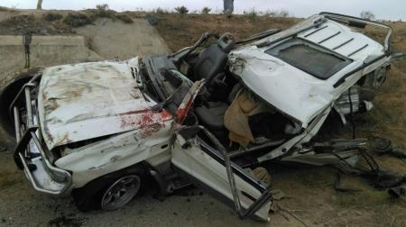 На трассе Бейнеу-Опорный в ДТП два человека погибли и трое получили травмы