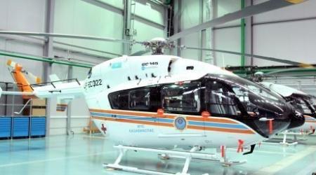 Вертолет для эвакуации пострадавших в ЧС появится в каждой области Казахстана