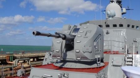 В порт Актау прибыли корабли Каспийской флотилии ВМФ России