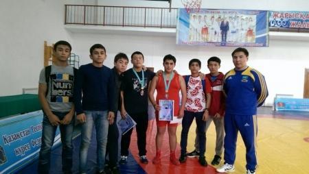 Актауские спортсмены вошли в тройку призеров на международном турнире по вольной борьбе