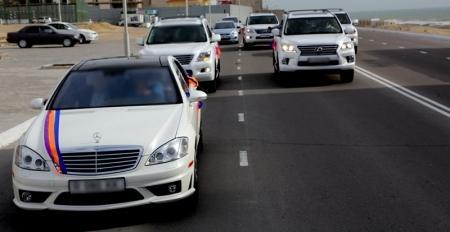 Калдымурат Айгараков: За три праздничных дня полицейские оштрафовали 10 водителей автомашин свадебных кортежей