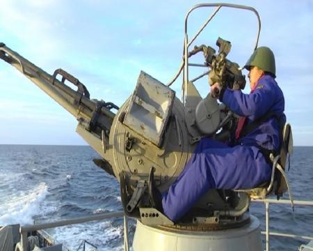 В Мангистау прошли совместные учения казахстанских и российских военно-морских сил