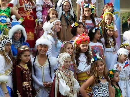 Ангелина Ананьева из Актау вошла в четверку сильнейших участниц конкурса «Little Miss world-2014»