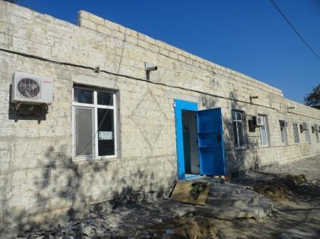 В Актау начался ремонт здания областного онкологического диспансера