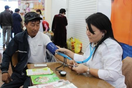 Алимжан Сагимбай: В Мангистауской области 44 процента населения страдают ожирением
