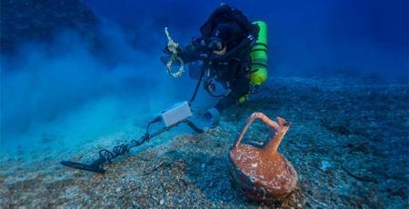 Найдены сокровища с корабля, затонувшего до нашей эры