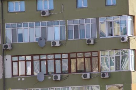 Такие разные балконы Актау (Фотопост)