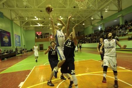 Баскетбольный клуб «Каспий» обыграл «Астану»