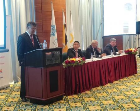 В Актау компания «NCOC» представила общественности план природоохранных мероприятиий на 2015 год