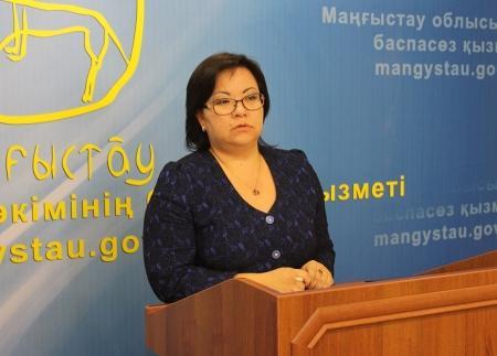 Шолпан Ильмуханбетова: В 2015 году в Актау и Жанаозене планируется начало строительства Дворцов школьников