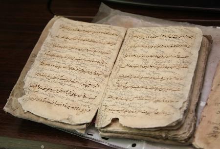 В Мангистауской области дети нашли древние книги