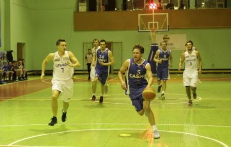 Баскетбольный клуб «Каспий» вновь проиграл «Капшагаю»