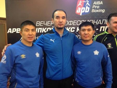 Актауский боксер Берик Абдрахманов и ирландец Дэвид Джойс готовы к поединку