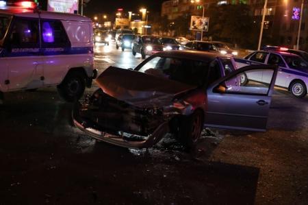 Ночная авария в Актау