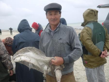 В Мангистауской области прошли соревнования по рыбной ловле