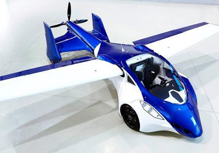Первый летающий автомобиль представили в Вене