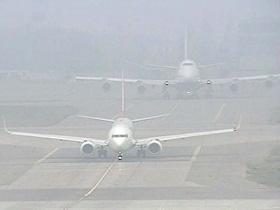 Прилет самолета из Астаны в Актау задерживается по погодным условиям