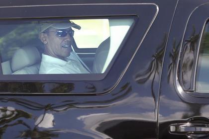 Кортеж Обамы стал останавливаться в Вашингтоне на красный свет