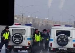 В Усть-Каменогорске пятеро полицейских избили водителя