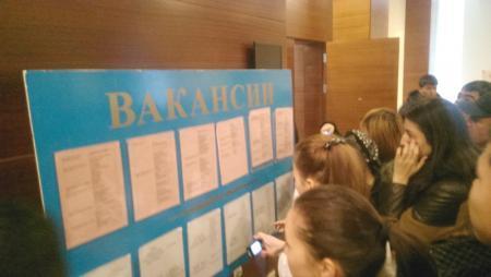Около 500 человек посетили ярмарку вакансий в Актау