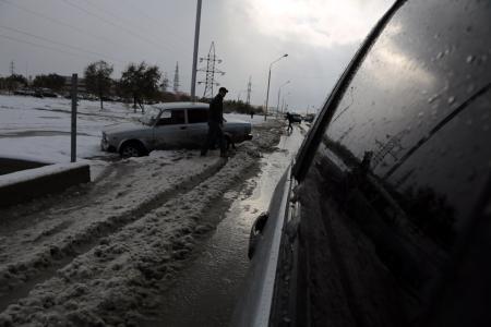 Из снега в грязь. Фотопост