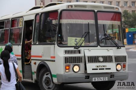 В Актау изменен маршрут автобуса №5