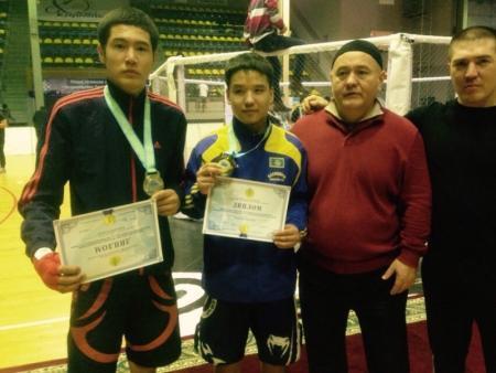 Мангистауские спортсмены завоевали восемь медалей на чемпионате Казахстана по жекпе-жек