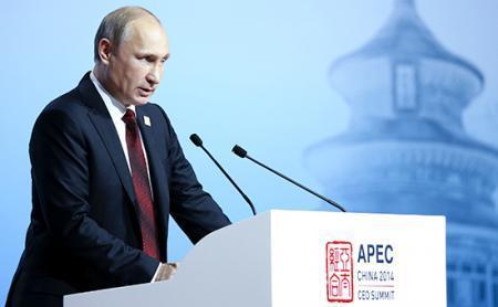 Путин предсказал прекращение «спекулятивных» прыжков курса рубля