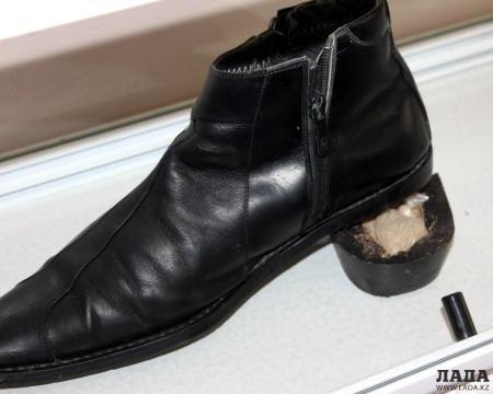 В Мангистау задержали гражданина Узбекистана с наркотиками в ботинке