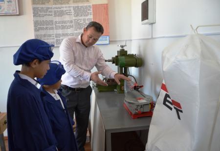 В поселке Курык открылись мастерские для детей с ограниченными возможностями