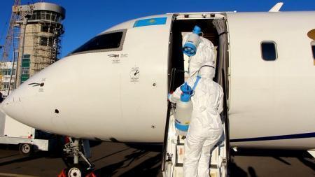 Учения по выявлению лихорадки Эбола прошли в аэропорту Актау