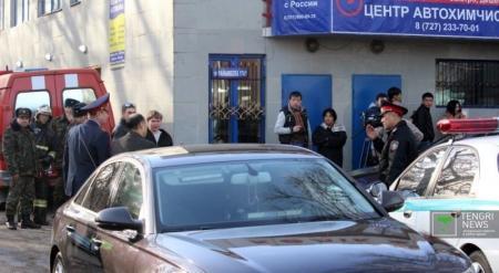 Учитель НВП водворен в изолятор после взрыва гранаты в колледже Алматы