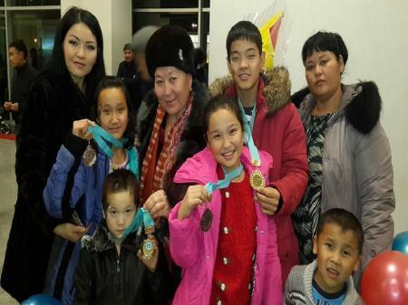 Дети из села Кызылсай победили на республиканском конкурсе детского творчества