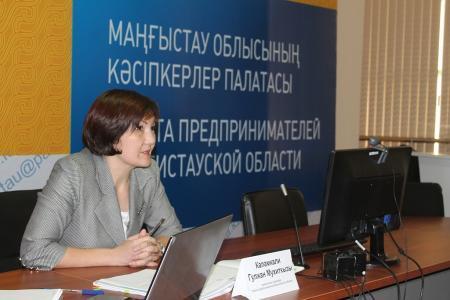 В палате предпринимателей обсудили необходимость открытия в Актау студенческого бизнес-инкубатора