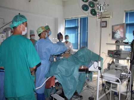 В Мангистауской областной больнице начали применять ультразвуковой скальпель
