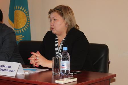 Гульмира Калмуратова: В Мангистау начала работу программа обучения и трудоустройства молодежи  «Жана серпiн»