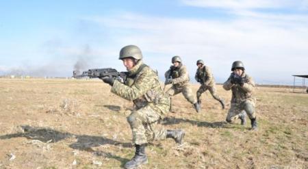 Армия Казахстана будет использовать опыт современных военных конфликтов