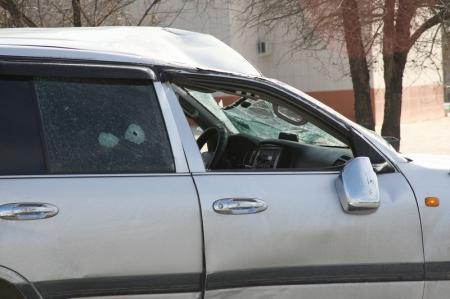 В Актау около драматического театра столкнулись два автомобиля