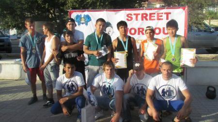 Спортсмены из Актау выступят в составе сборной Казахстана на чемпионате мира по street workout