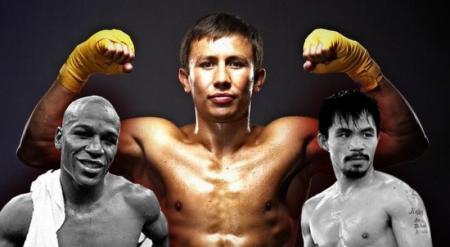 В борьбе за звание боксер месяца Головкин обошел Пакьяо и Мейвезера