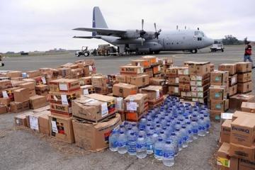 Казахстан оказывает гуманитарную помощь Украине