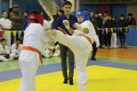 В Актау прошел областной турнир по кекушинкай карате