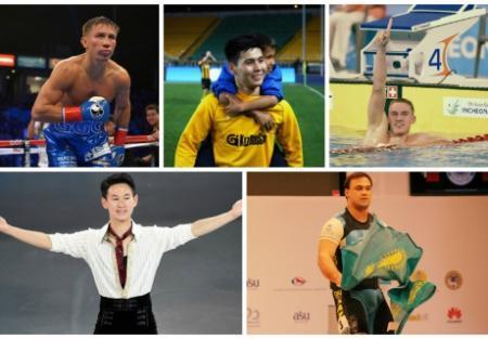 Выбери лучшего спортсмена года!