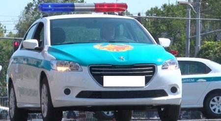 На полицейский автомобиль-призрак пожаловались главе МВД Казахстана