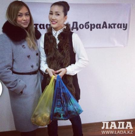 Актауские пользователи Instagram собирают продукты для малоимущих